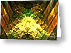 Crystalline Forest Greeting Card