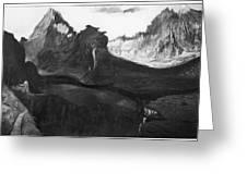 Csontvary: Hight Tatras Greeting Card
