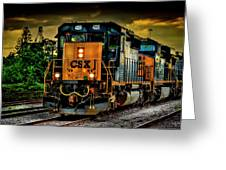 Csx 4226 Greeting Card