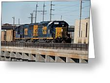 Csx 8011 Bone Valley Bound Greeting Card
