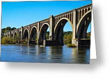 Csx A-line Bridge Greeting Card