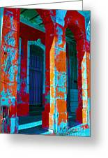 Cuba Architecture Greeting Card