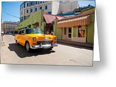 Classic Cuba Cars IIi Greeting Card