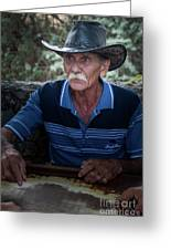 Cuban Domino Player, Manaca Iznaga, Cuba Greeting Card