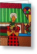 Cuban Vignette Greeting Card