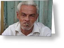 Cuba's Faces Greeting Card