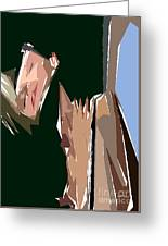 Cubism Series Xiii Greeting Card