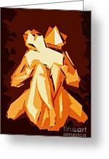 Cubism Series Xxii Greeting Card
