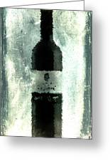 Cubist Red Wine Greeting Card