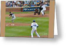 Cubs - Eye On The Ball Greeting Card
