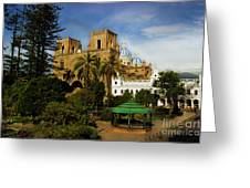 Cuenca Is A World Heritage Site Greeting Card