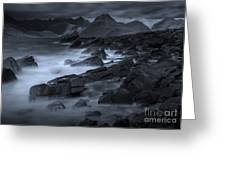 Cuillin From Elgol Greeting Card