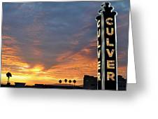 Culver City Marquee Greeting Card