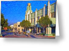 Culver City Plaza Theaters   Greeting Card