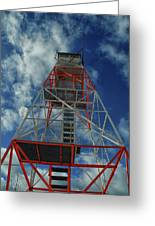 Culver Fire Tower Greeting Card