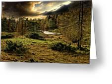 Cumbrian Drama Greeting Card