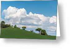 Cumulus Sky Greeting Card