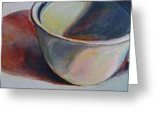 Cup And Shadow 1 Greeting Card