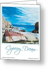 Cupecoy Dream Poster Greeting Card