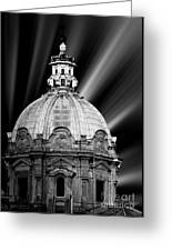 Cupola In Rome Greeting Card