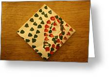 Curiosity  - Tile Greeting Card