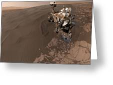 Curiosity Rover Self-portrait Greeting Card