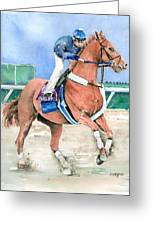 Curlin Greeting Card