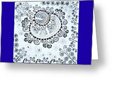 Curly Greeting Card