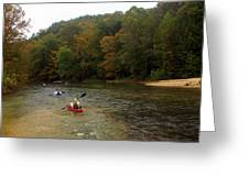Current River 3 Greeting Card