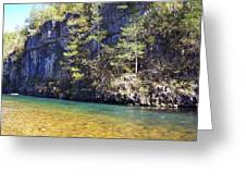 Current River 7 Greeting Card