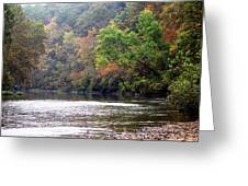 Current River Fall Greeting Card