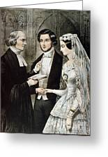 Currier: The Marriage Greeting Card