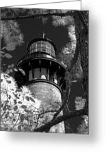 Currituck Beach Lighthouse In Infrared Greeting Card