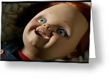 Curse Of Chucky Greeting Card