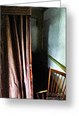 Curtains Closed Greeting Card