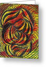 Curved Lines 2 Greeting Card