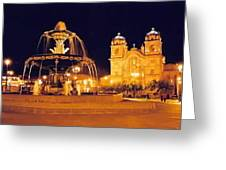 Cusco Peru Greeting Card