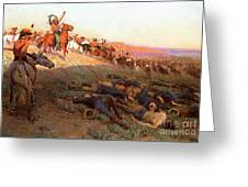Custer's Last Stand Greeting Card