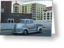 Custom Chevy Asbury Park Nj Greeting Card