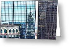 Custom House Reflection Greeting Card