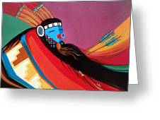 Custom Kachina Greeting Card