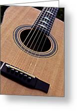 Custom Made Guitar Greeting Card