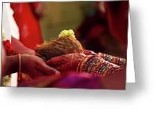 Customs Of The Kannada Wedding Greeting Card