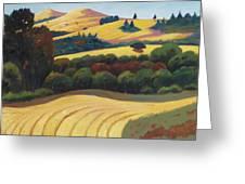 Cut Grass Greeting Card