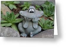 Cute Garden Greeting Card