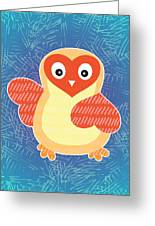 Cute Little Baby Chick Greeting Card