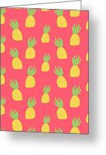 Cute Pineapples Greeting Card