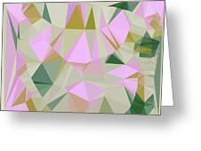 Cute Polygonal Greeting Card