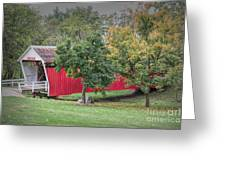 Cutler-donahoe Covered Bridge Greeting Card