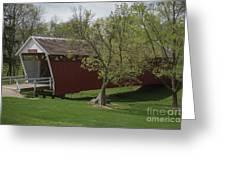 Cutler - Donahoe Covered Bridge - Madison County - Iowa Greeting Card